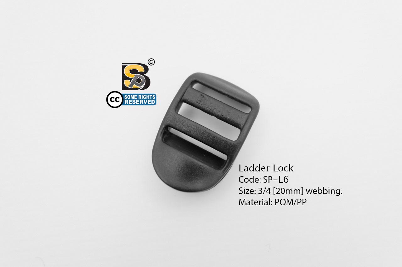 สามช่อง 6 หุน (แข็ง) / Ladder Loc (3/4)
