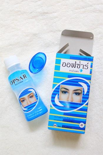 OPSAR น้ำยาล้างตา 120 ml
