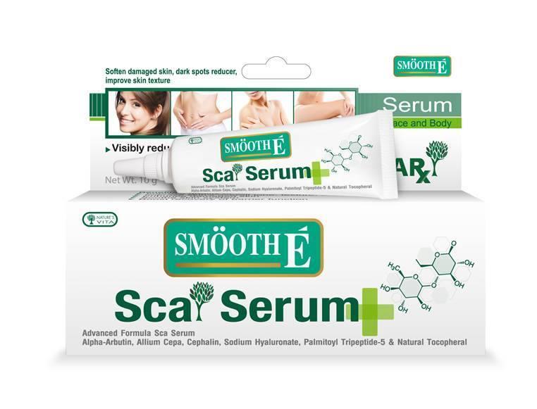 Smooth E Sca Serum Face and Body สมูท อี สกา เซรั่ม เฟซ แอนด์ บอดี้ ปริมาณสุทธิ 10 g