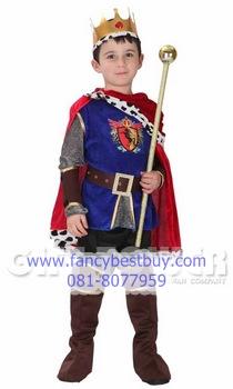 ชุดเจ้าชายผู้ทรงเกียรติ สำหรับแฟนซีเด็ก Honorable Prince มีขนาด XL+ (สำหรับเด็กอ้วน)