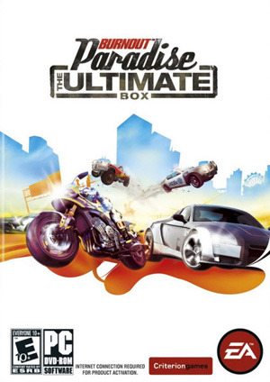 Burnout Paradise The Ultimate Box ( 1 DVD )