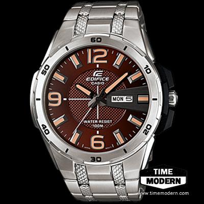 นาฬิกา คาสิโอ Casio Edifice 3-Hand Analog รุ่น EFR-104D-5AVDF
