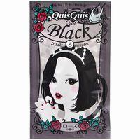 โฉมใหม่!!!เพจเกจเจ้าหญิง Quis Quis Cool Black สีดำ ทรีตเม้นท์เปลี่ยนสีผมชั่วคราวหอมกลิ่นกุหลาบ อยู่ได้ 7 วัน