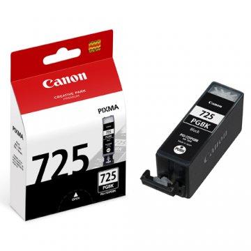 Canon PGI-725BK ตลับหมึกอิงค์เจ็ท สีดำ Black Original Ink
