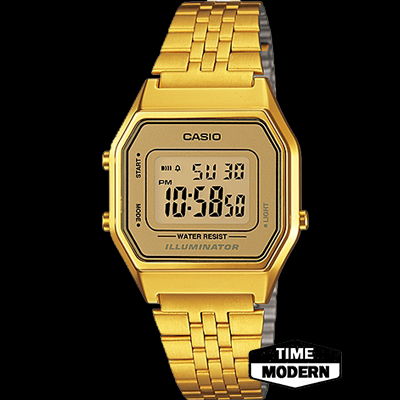 นาฬิกา Casio Standard Analog เรือนทองยอดนิยม รุ่น LA680WGA-9DF