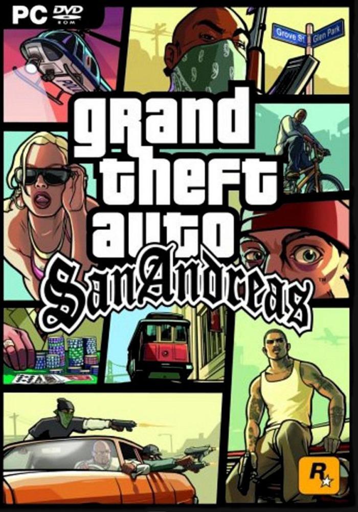 GTA San Andreas ( 1 DVD )