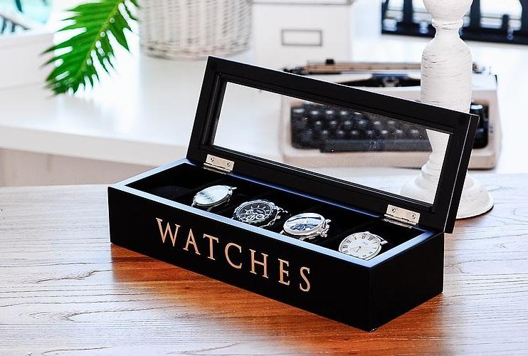 กล่องเก็บนาฬิกา งานไม้สนรัสเซีย
