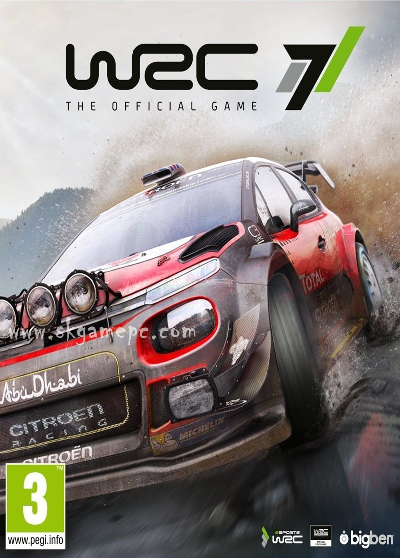 WRC 7 FIA World Rally Championship ( 4 DVD )