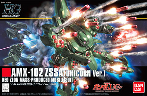 HGUC 1/144 180 zssa booster & Booster Purge 2400y