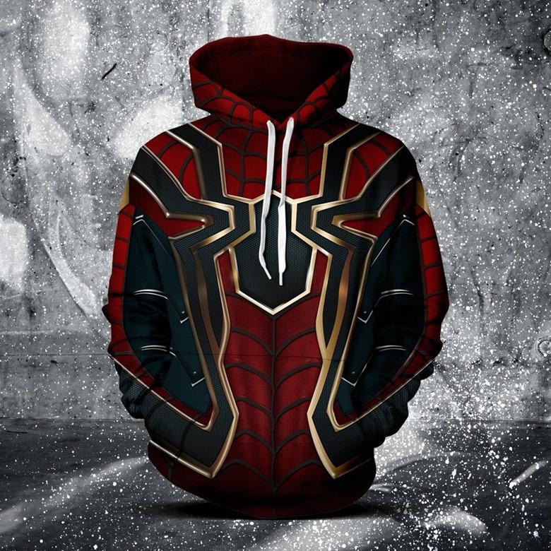 เสื้อกันหนาวแบบมีฮู้ด Iron Spider - Avengers: Infinity War