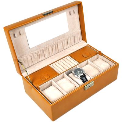 กล่องใส่นาฬิกา ใส่เครื่อประดับ วัสดุเกรด A สไตล์ ยุโรป