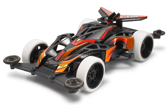 JR MaxBreaker CX09 Black Sp. - Super X Chassis