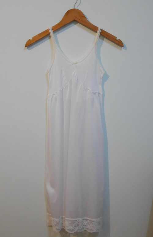 jp3591 ชุดซับในเด็ก ไซค์ M95 สีขาว ช่วงอกผ้ายืด ต่อใต้อกผ้าไนลอน รอบอก 24-28 นิ้ว