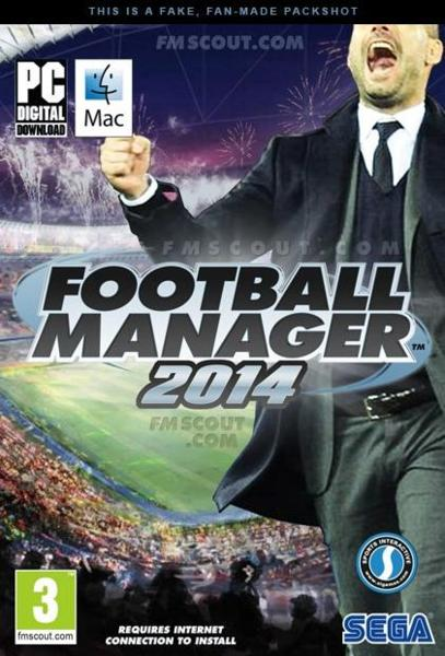 Football Manager 2014 ( 1 DVD )