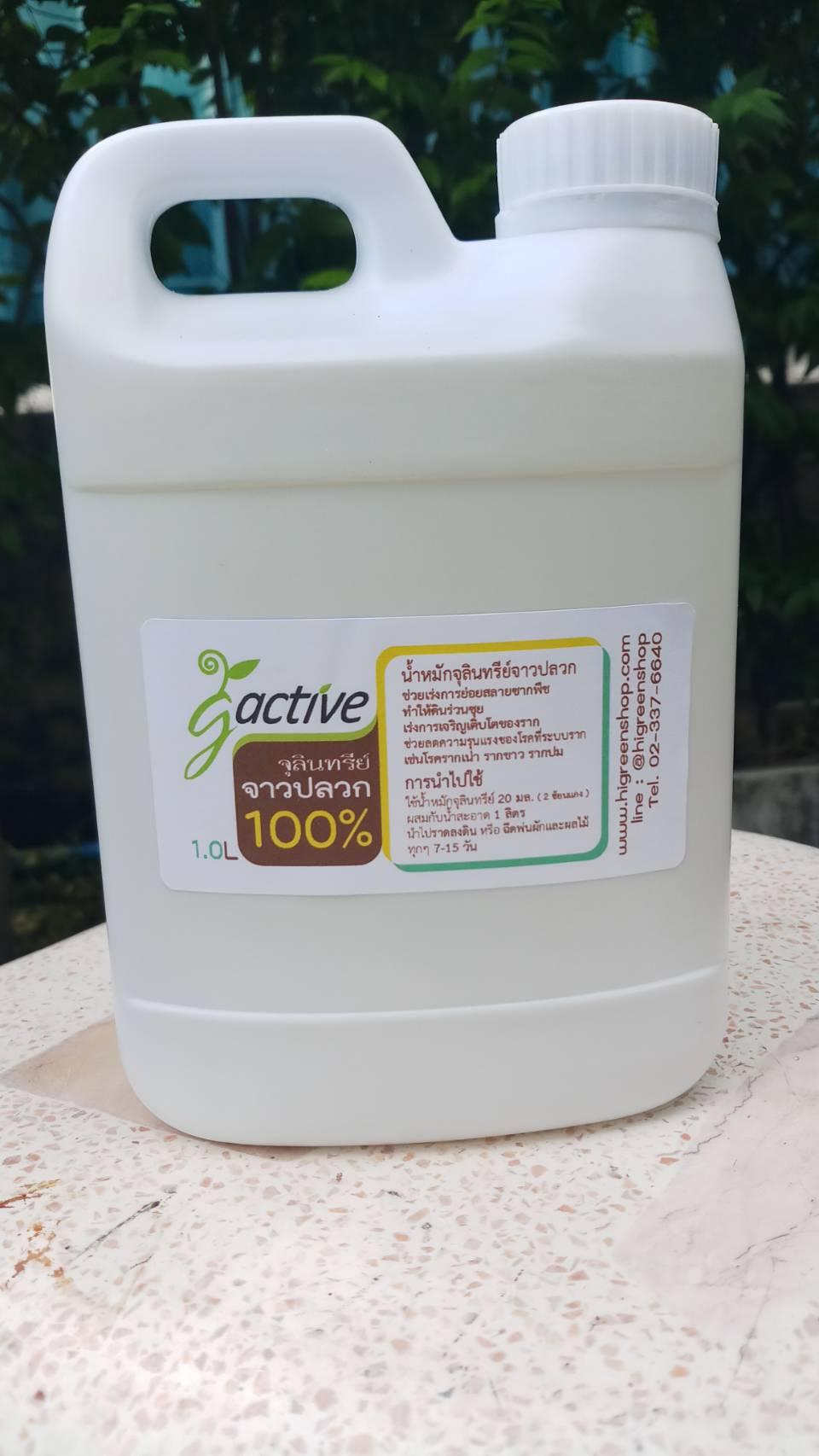 น้ำหมักจุลินทรีย์จาวปลวก ขนาด 1000 มล.