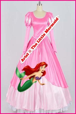 ชุดเจ้าหญิงแอเรียล @ The little mermaid