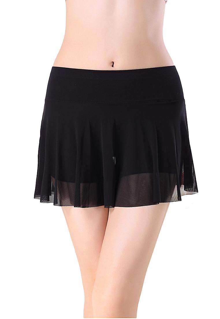 กางเกงเลกกิ้งพร้อมกระโปรงซับใน Base skirt long