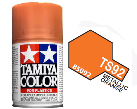 TS-92 METALLIC ORANGE 100ML