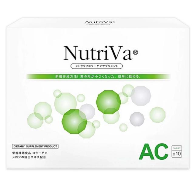 Nutriva AC For Acne นูทริว่า เอซี ฟอร์ แอคเน่ ลดสิว ควบคุมความมัน รูขุมขนกระชับ
