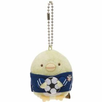 พวงกุญแจตุ๊กตา Sumikko Gurashi เพนกวิน-ฟุตบอล