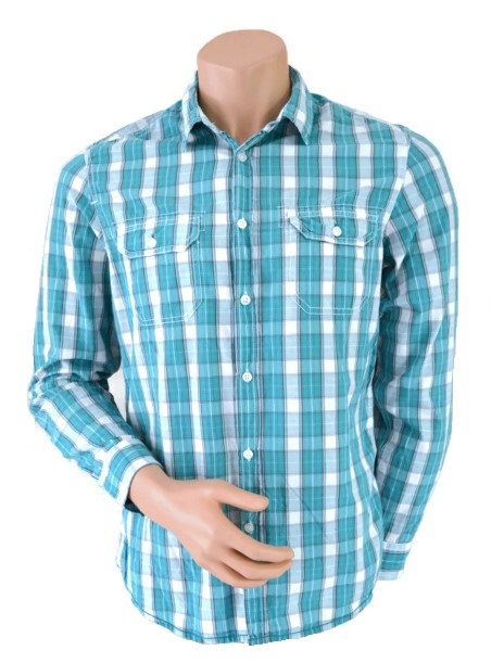 Burton Checked Shirt Green Size M