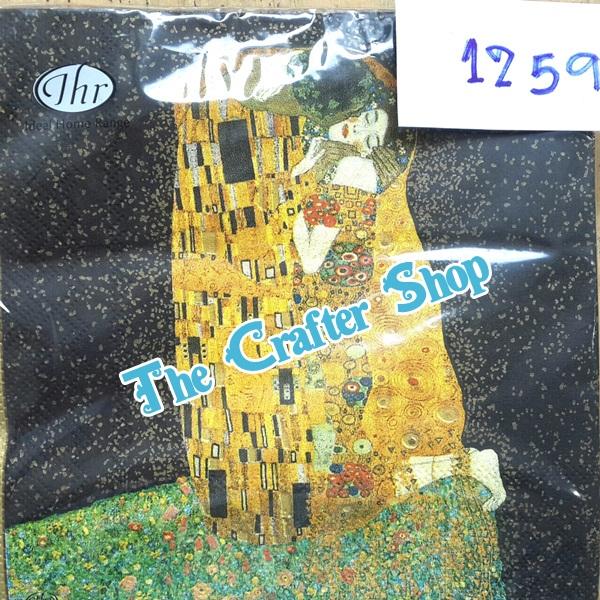 napkin ลายภาพศิลปะ (รหัสสินค้า NA-1259)