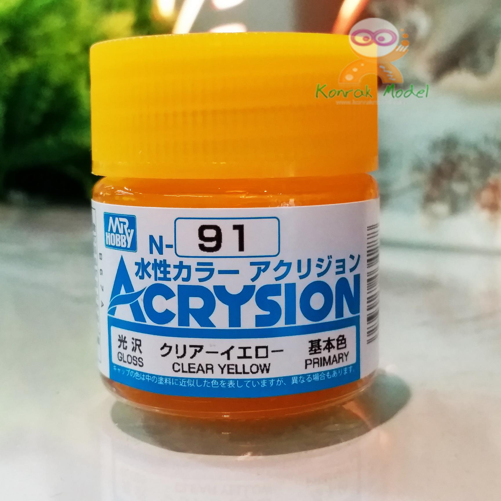 N91 CLEAR YELLOW (Gloss) 10ml