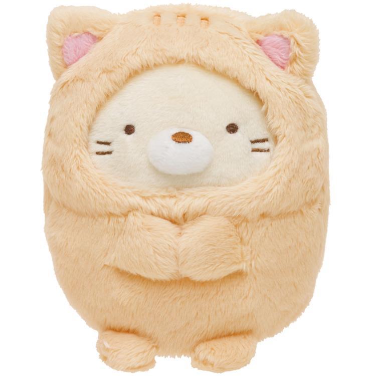 ตุ๊กตา Sumikko Gurashi แมวชุดแมว S