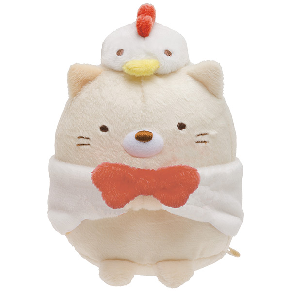 ตุ๊กตา Sumikko Gurashi แมวชุดไก่